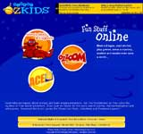 Planet Ozkids - A world of learning , games and  fun